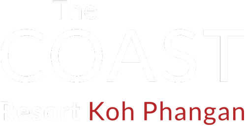 The Coast Resort Phangan Logo White